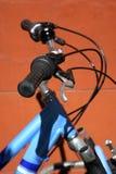 Maniglie della bicicletta immagini stock libere da diritti