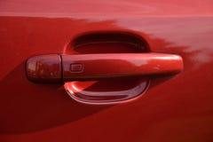 Maniglie di porta sull'automobile Fotografie Stock