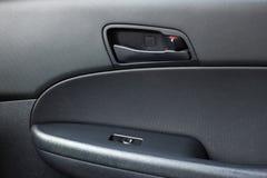 Manija de la abertura de la puerta de coche Imagen de archivo libre de regalías