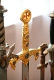 Manija de la espada Imagen de archivo libre de regalías