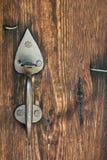 Manija de la puerta foto de archivo libre de regalías
