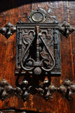Manija de la puerta Imágenes de archivo libres de regalías