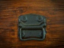Manija del lado del pecho del vintage Foto de archivo libre de regalías