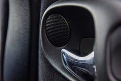 Manija interior del coche Foto de archivo libre de regalías
