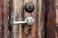 Manija oxidada del hierro del vintage Fotografía de archivo libre de regalías