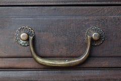 Manija retra del cajón foto de archivo libre de regalías