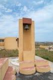 Manikata, Malta - Mei 10, 2017: Klok bij Parochiekerk van St Joseph Royalty-vrije Stock Foto