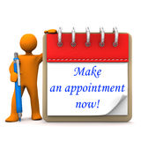 Manikin Appointment Stock Images