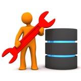 Manikin Repair Database Royalty Free Stock Image