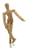 Manikin showing small Royalty Free Stock Images