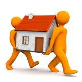 Manikins House Stock Image