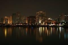 Manila bay royalty free stock image
