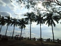 Manila Baywalk Royaltyfri Bild