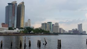 Manila-Bucht stockbild