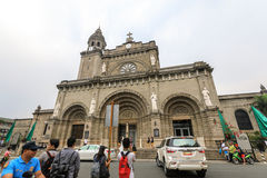 Manila Cathedral Royalty Free Stock Images
