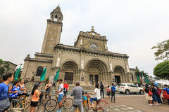 Manila Cathedral Royalty Free Stock Photography