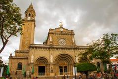 Manila Cathedral, Intramuros, Manila, Philippines Stock Photo