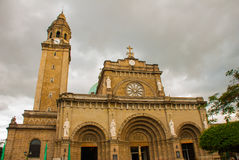 Manila Cathedral, Intramuros, Manila, Philippines Royalty Free Stock Photos