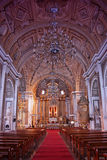 Manila cathedral in Intramuros in the Philippines stock image