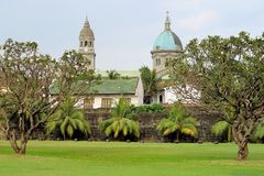 Manila Cathedral in Intramuros, Philippines Stock Photography