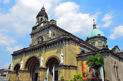Manila Cathedral Stock Image