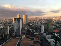 Manila city landscape Stock Image