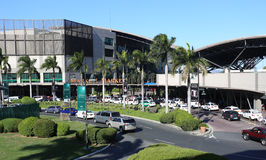 MANILA - 17 DE MAIO: Mercado! Mercado! é uma alameda que tenha o retai temático Fotografia de Stock