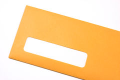 Manila envelope oblique Royalty Free Stock Image