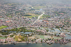 Manila förort arkivbild