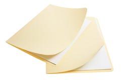 Manila Folders Royalty Free Stock Images