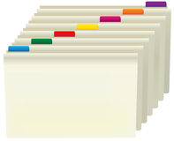 Manila Folders Royalty Free Stock Image