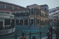 Manila großartiges Venedig Italien stockfoto