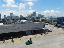 Manila hamn, Filippinerna royaltyfri foto