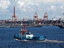 Manila hamn, Filippinerna arkivbild
