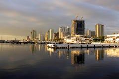 Manila horisont royaltyfri bild