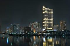 Manila horisont Arkivfoton