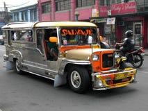 Manila Jeepney Royaltyfri Foto