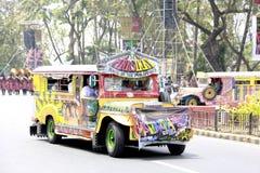 Manila Jeepney Lizenzfreie Stockbilder