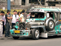 Manila Jeepney Royalty Free Stock Image