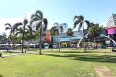 MANILA - 17. MAI: Bonifacio High Street blockiert Funktionen mostl Stockfoto