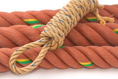 Manila Nylon Ropes Stock Image