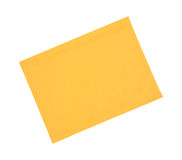 Manila padded envelope Stock Image