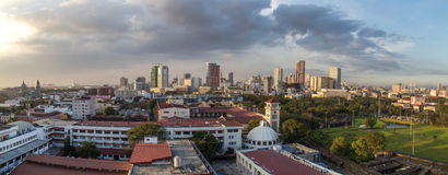 Manila Panorama Royalty Free Stock Image
