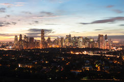manila philippines Royaltyfria Bilder