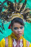 2018 Aliwan Fiesta. MANILA , PHILIPPINES - APRIL 27 :Participant in the Aliwan fiesta in Manila Philippines on April 27 2018. Aliwan Fiesta is an annual event Stock Images