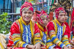 2018 Aliwan Fiesta. MANILA , PHILIPPINES - APRIL 27 :Participants in the Aliwan fiesta in Manila Philippines on April 27 2018. Aliwan Fiesta is an annual event Stock Images