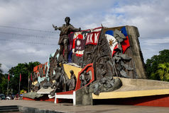 Katipunan KKK Monument in Manila, Philippines. Manila, Philippines - Dec 21, 2015. Katipunan KKK Monument in Manila, Philippines. The Katipunan was a Philippine Royalty Free Stock Photography