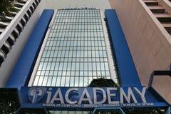 IAcademy, Manila, Philippines. MANILA, PHILIPPINES - DECEMBER 7, 2017: iAcademy private university in Makati City, Metro Manila, Philippines. The full name of Stock Images