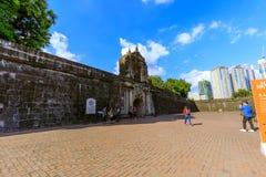 Fort Santiago, Intramuros district of Manila, Philippines royalty free stock photos