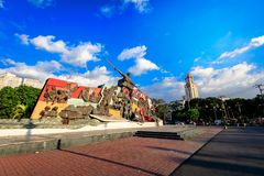 Katipunan (KKK) Monument in Manila, Philippines. Manila, Philippines - Feb 4, 2018 : Katipunan (KKK) Monument in Manila, Philippines. The Katipunan was a Royalty Free Stock Photography